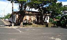 Cascalho Rico - Cascalho Rico-MG-Ruas na Praça São João-Foto:Anivaldo Gonçalves