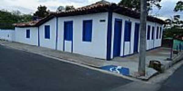 Cascalho Rico-MG-Casarão atual Casa da Cultura-Foto:Anivaldo Gonçalves