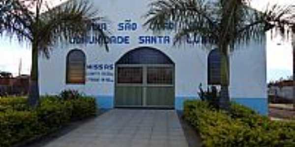 Cascalho Rico-MG-Nova Igreja no Distrito de Santa Luzia da Boa Vista-Foto:Anivaldo Gonçalves