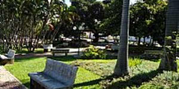 Cascalho Rico-MG-Praça São João-Foto:Anivaldo Gonçalves