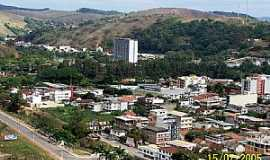 Cataguases - Cataguases-MG-Vista a�rea do centro-Foto:Setigua