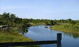 Corre Água - Corre Água-AP-Rio Piririm no Balneário Mururé-Foto:Alan Kardec