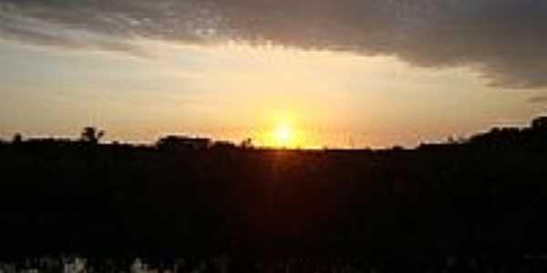 Pôr do Sol em Corre Água-Foto:Alan.Kardec