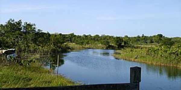 Corre Água-AP-Rio Piririm no Balneário Mururé-Foto:Alan Kardec