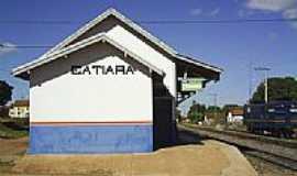 Catiara - Estação Ferroviária-Foto:Lukas Gonçalves.