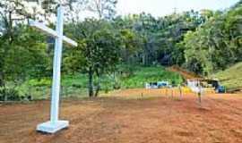Catuné - Cruzeiro na entrada da Pedra Santa-Foto:sgtrangel