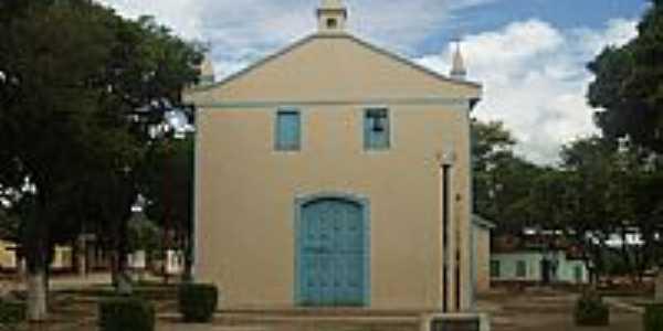 Praça e Igreja de Catuni-Foto:Danilo Duraes