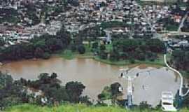 Caxambu - Vista do Lago e Teleférico-Foto:aroldinho dos reis