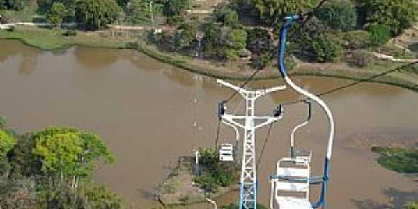 Caxambu-MG-Teleférico no Morro Caxambu-Foto:Serneiva