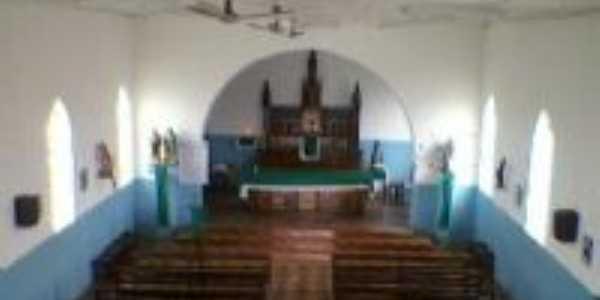 Parte interna de nossa igreja, Por OTACILIO RIOS