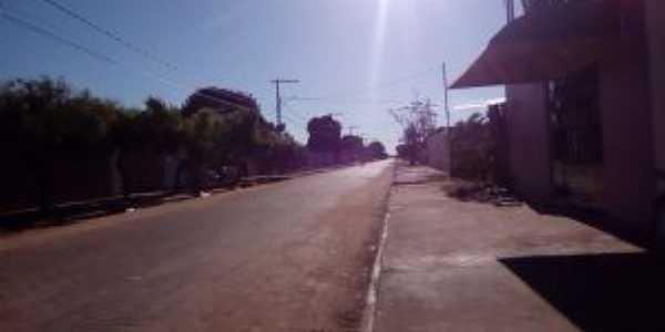 Chapada gaúcha , rua principal ,, Por Douglas Teixeira