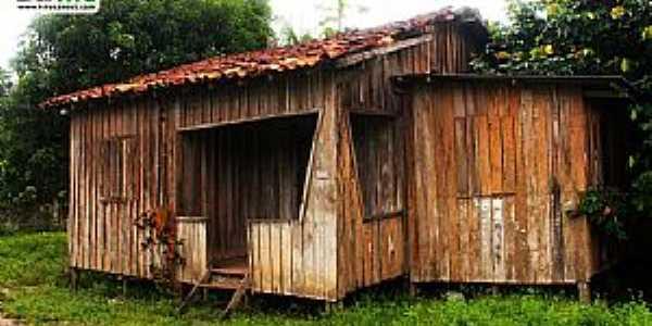 Curiaú-Casa do antigo Quilombo Curiaú-Foto:www.titogarcez.com