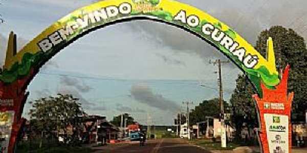 Curiaú-Portal Quilombo do Curiaú-Foto:Alan Kardec