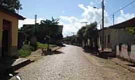 Cisneiros - Rua da praça-Foto:Fabio Arruda MG [Panoramio]
