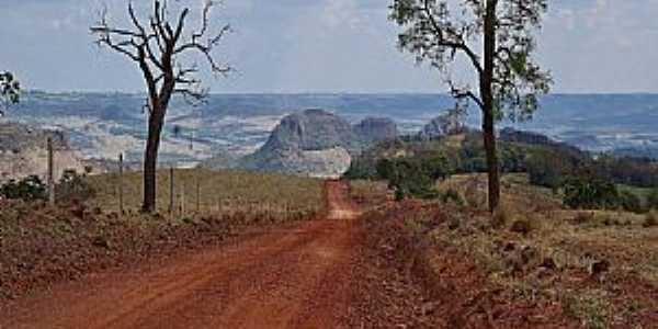 Claraval-MG-A região vista da estrada-Foto:adauto rodrigues