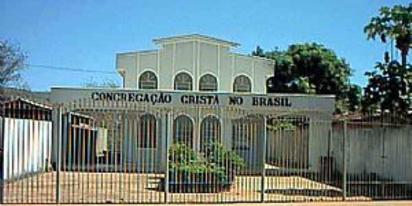 Claro dos Po��es-MG-Igreja da Congrega��o Crist� do Brasil-Foto:Renato Duarte