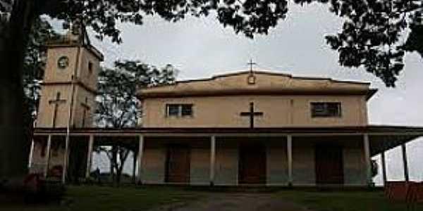 Cláudio Manuel-MG-Igreja de São Sebastião-Foto:mapio.net
