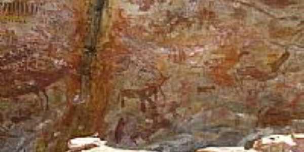 Pinturas rupestres por Juarez de Oliveira