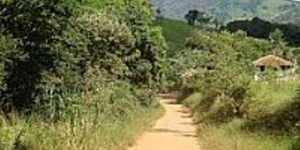 Estrada de terra na área rural de Coco-Foto:BARBOSA