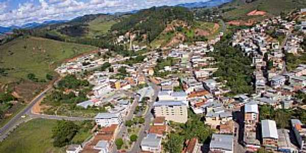 Coimbra-MG-Vista aérea da cidade-Foto:coimbra.mg.