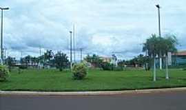 Concei��o das Alagoas - Rotat�ria foto , por samuel garcia silva
