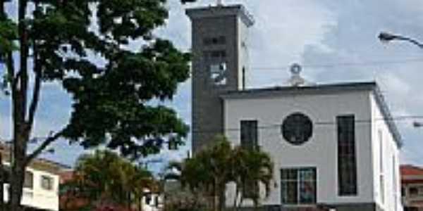 Igreja Matriz em Conceição das Pedras-Foto:Furlanetto