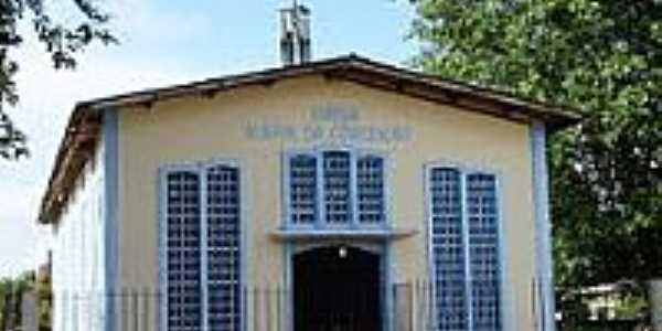 Igreja de N.Sra.da Concei��o em Ferreira Gomes-Foto:Vicente A. Queiroz