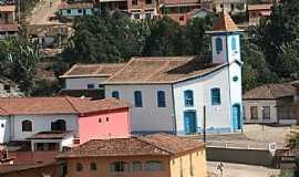 Conceição do Mato Dentro - Conceição do Mato Dentro-MG-Capela do Rosário e parcial da cidade-Foto:Geraldo Salomão