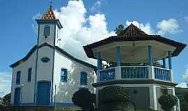 Conceição do Mato Dentro - Conceição do Mato Dentro-MG-Coreto e Igreja do Rosário-Foto:Paulo Henrique Matias