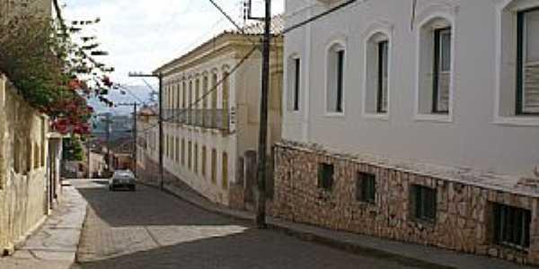 Conceição do Mato Dentro-MG-Rua do centro-Foto:Fernando Bezerra