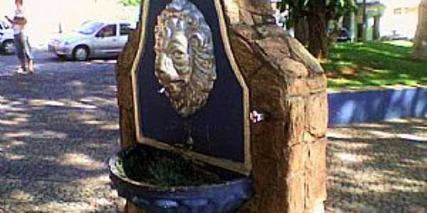 Conceição dos Ouros-MG-Bebedouro na Praça central-Foto:João Vitor C.