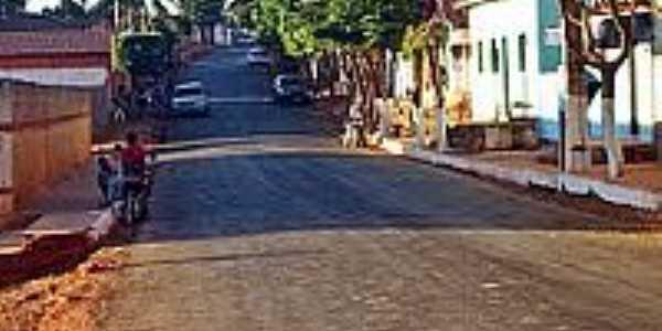 Rua do Posto de Saúde de Condado do Norte-Foto:joseborges -