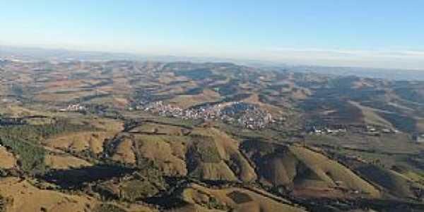 Congonhal-MG-Vista aérea da região-Foto:Facebook