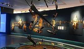 Congonhas - Congonhas-MG-Sala de Exposição do Museu de Congonhas-Foto:Portal Brasil