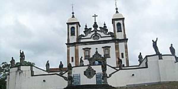 Comgonhas-MG-Santuário Bom Jesus de Matozinhos-Foto:Josue Marinho
