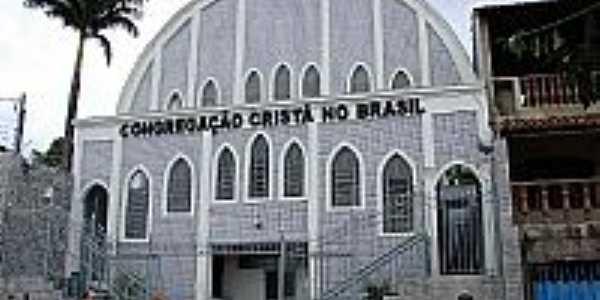 Igreja da Congrega��o Crist� do Brasil em Contagem-Foto:Congrega��o Crist�.NET
