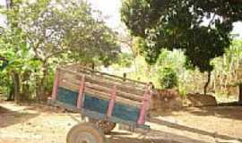 Contria - Carroça em Contria-Foto:claudio vinicius