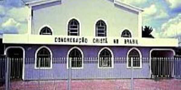 Igreja da Congregação Cristã do Brasil em Coqueiral-Foto:Congregação Cristã.NET