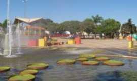 Coromandel - Lagoa da praça Abel Ferreira, Por Sidney