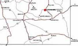 Coromandel - Mapa