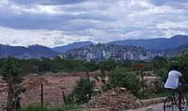 Coronel Fabriciano - A cidade vista do bairro Mangueiras