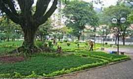 Coronel Fabriciano - Praça frente da Acesita