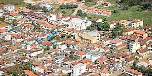Córrego do Bom Jesus-MG-Vista parcial da cidade-Foto:Jornal O Registro