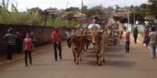 Desfile de carro de boi, Por Roseli De Oliveira Lima