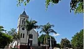 Córrego Fundo - Igreja Matriz(de cima)-Foto:Aender (Arcos-…