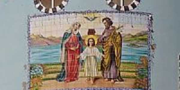Painel da Igreja da Sagrada Família-Foto:salvereis [Panoramio]