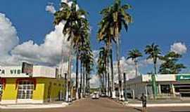 Brasiléia - Avenida central de Brasiléia-Foto:JEZAFLU=ACRE=BRASIL
