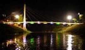 Brasiléia - Ponte Wilson Pinheiro vista noturna foto do site da PMB