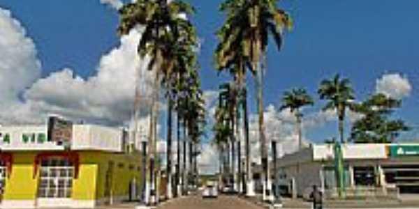 Avenida central de Brasiléia-Foto:JEZAFLU=ACRE=BRASIL