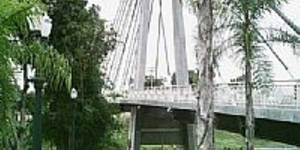 Ponte da Amizade Brasil/Bol�via-Foto:JEZAFLU=ACRE=BRASIL